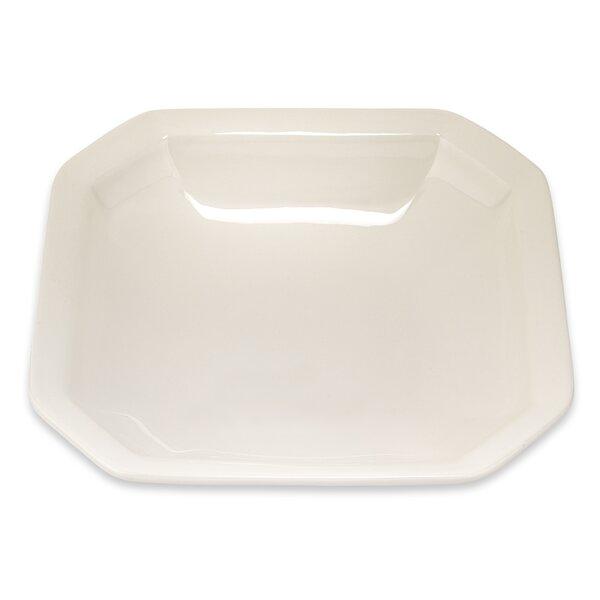 White Octagonal Platter by Lorren Home Trends