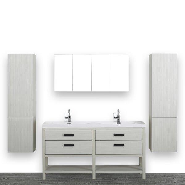 63 Streamline K1803-098-63-51MR2S Double Vanity