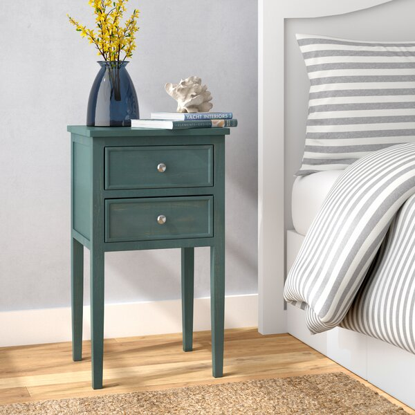 Kelty End Table With Storage by Beachcrest Home
