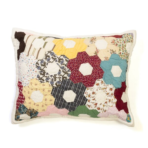 Patchwork Flower Standard Sham by Amity Home