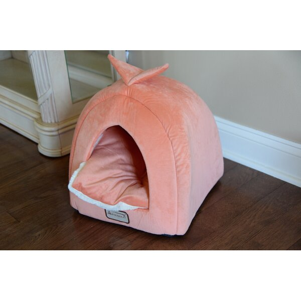 Cat Bed in Orange and Ivory by Armarkat