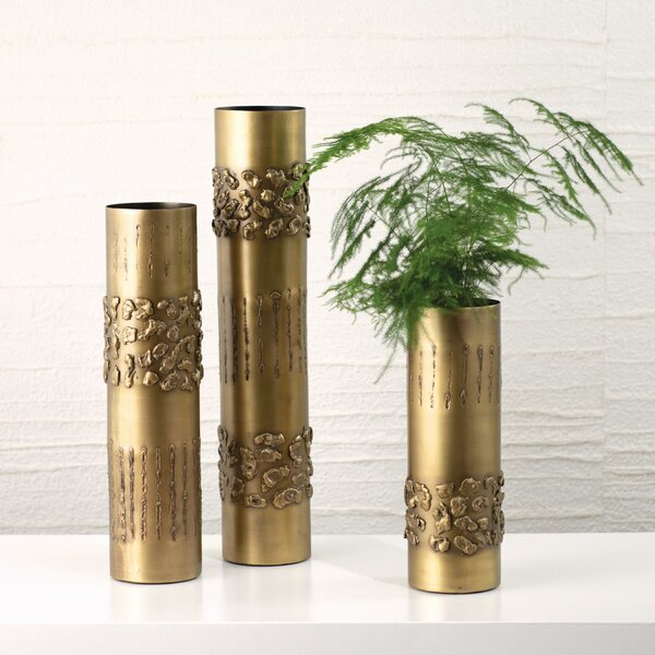 Textural Band Table Vase by Global Views