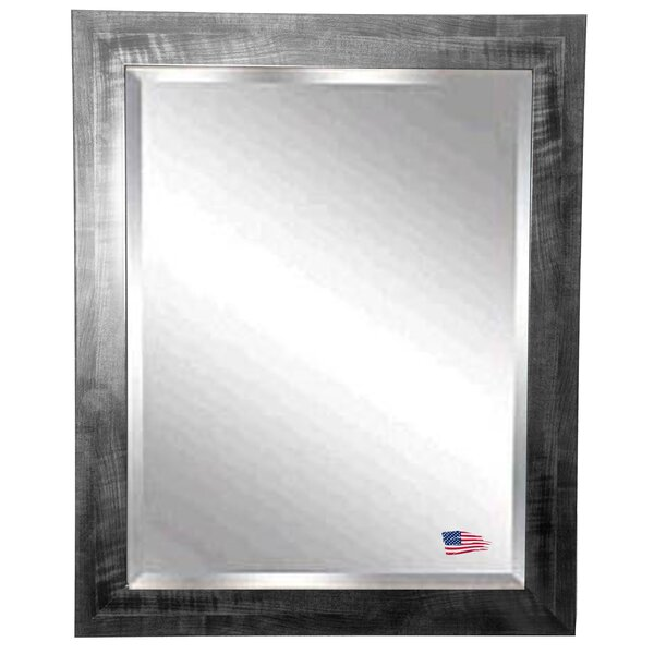 Rectangle Black Wall Mirror by Trent Austin Design
