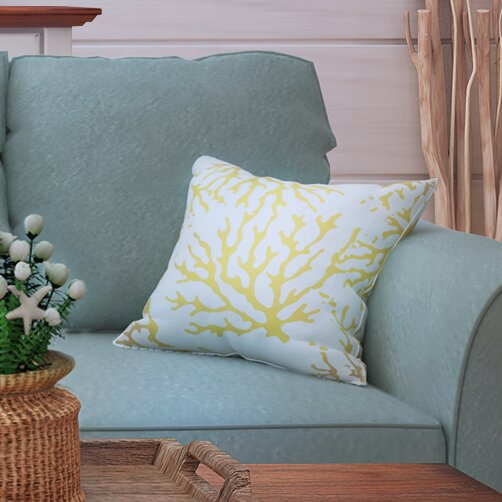 Calburn Outdoor Throw Pillow by Beachcrest Home