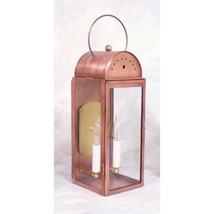 Inexpensive Moorgate 2-Light Outdoor Wall Lantern By August Grove