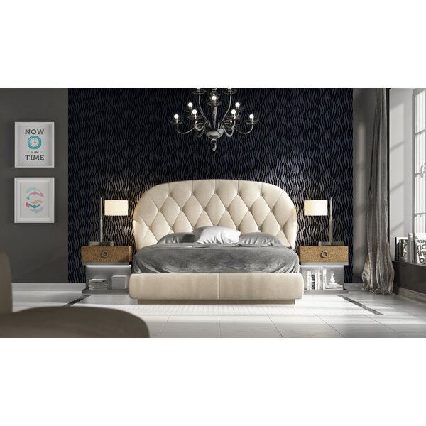 London King 3 Piece Bedroom Set by Hispania Home