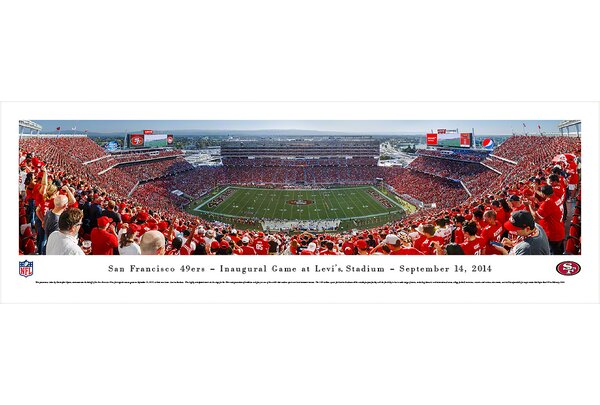 NFL San Francisco 49Ers - Inaugural by Christopher Gjevre Photographic Print by Blakeway Worldwide Panoramas, Inc