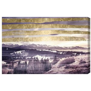 Golden Sandman Graphic Art on Wrapped Canvas by Loon Peak