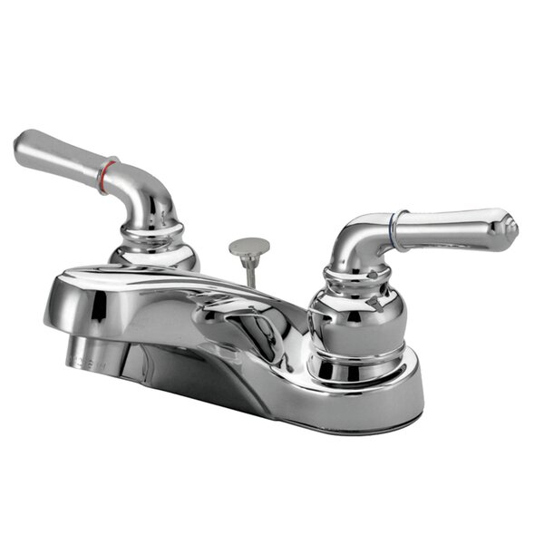 Magellan Centerset Bathroom Faucet With ABS Pop-up By Kingston Brass