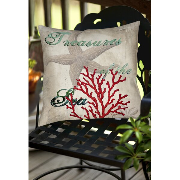 Concetta Indoor/Outdoor Throw Pillow by Highland Dunes