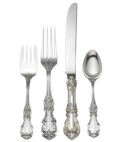 4 Piece Sterling Silver Place Setting by Reed & Barton