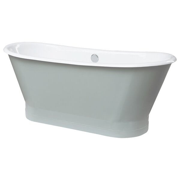 Gloria 27.56 x 27.56 Freestanding Soaking Bathtub by Maykke