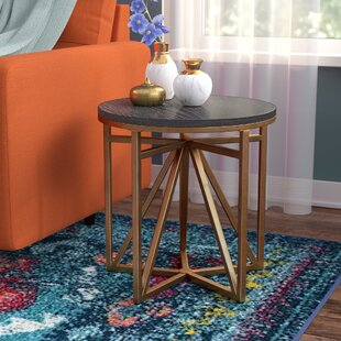 Look for Carlo End Table ByMercury Row