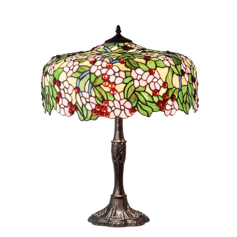 Diane Cherry Blossom 28 5 Table Lamp