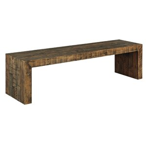 Chantel Wood Bench by World Menagerie