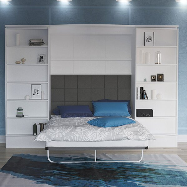 Gautreau Queen Storage Murphy Bed by Brayden Studio Brayden Studio