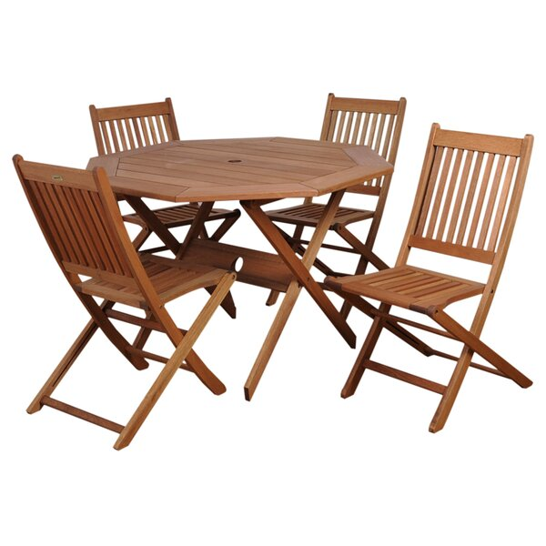 Trego International Home 5 Piece Dining Set by Highland Dunes