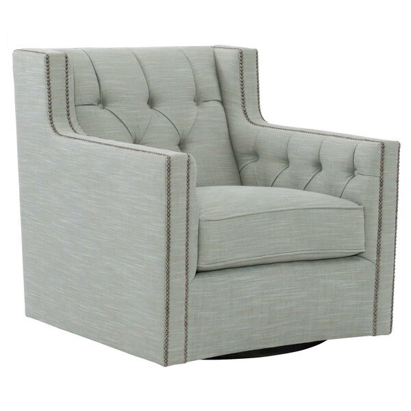 Candace Swivel Wingback Chair by Bernhardt