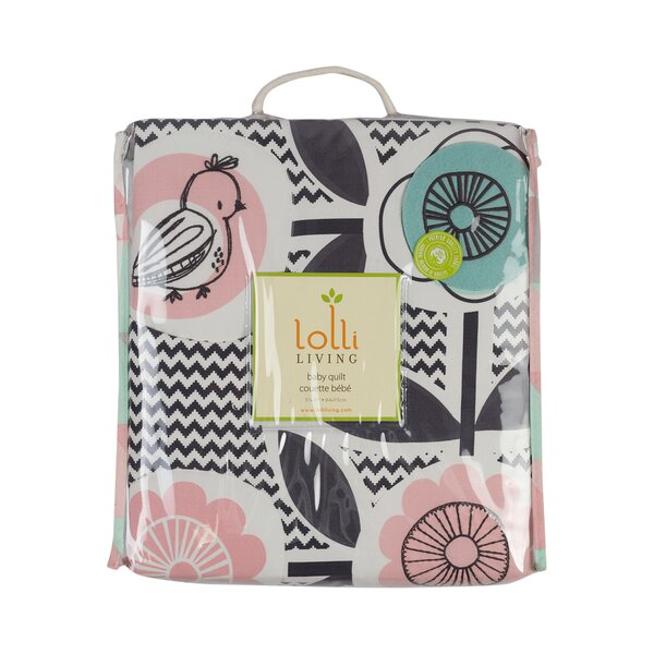 Sparrow Baby Quilt by Lolli Living