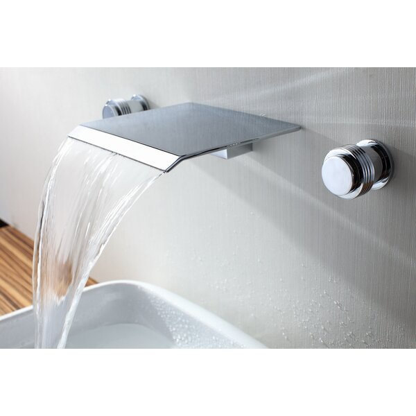 Wall Mount Waterfall Bathroom Sink Faucet by Sumerain International Group