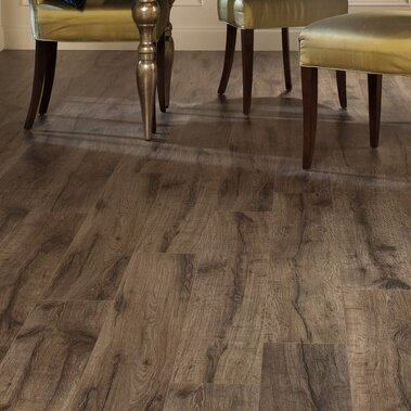 Reclaime 8 x 54 x 12mm Oak Laminate Flooring Plank in Heathered Oak by Quick-Step