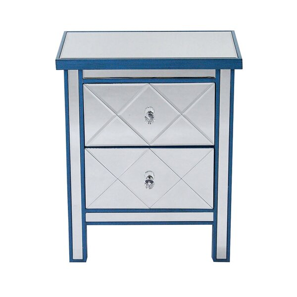 Lindel 2 Drawer Accent Chest by House of Hampton House of Hampton