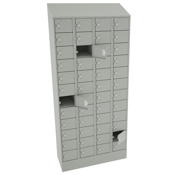 12 Tier 4 Wide Employee Locker by Tennsco Corp.12 Tier 4 Wide Employee Locker by Tennsco Corp.