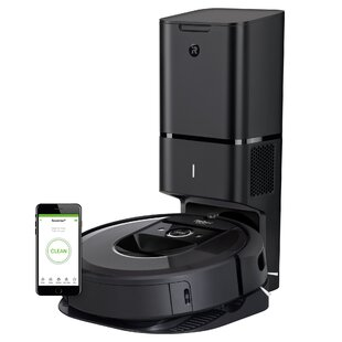 iRobot Roomba i7+ Bagless Robotic Vacuum with Automatic Dirt Disposal by iRobot