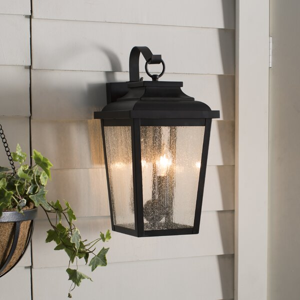 Mayhugh 3-Light LED Outdoor Wall Lantern by Three Posts