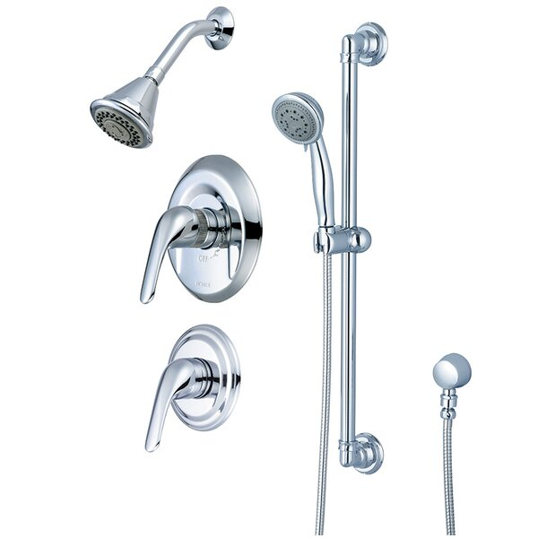 Legacy Single Handle Tub and Shower Faucet with Trim and Diverter by Pioneer