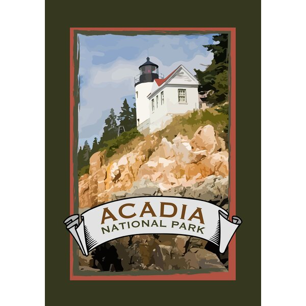 Acadia National Park Garden flag by Toland Home Garden