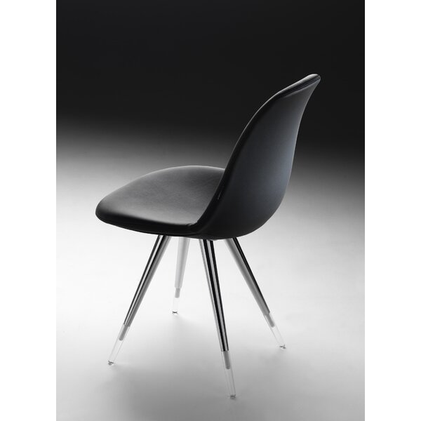 Angel Genuine Leather Upholstered Dining Chair by Modern Chairs USA