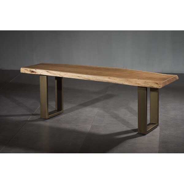 Setser Dining Wood Bench by Ivy Bronx