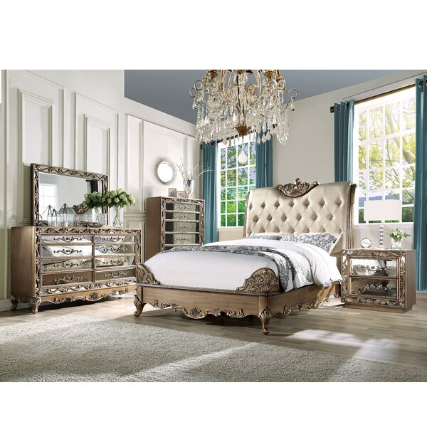 Boyden Upholstered Standard Bed by A&J Homes Studio