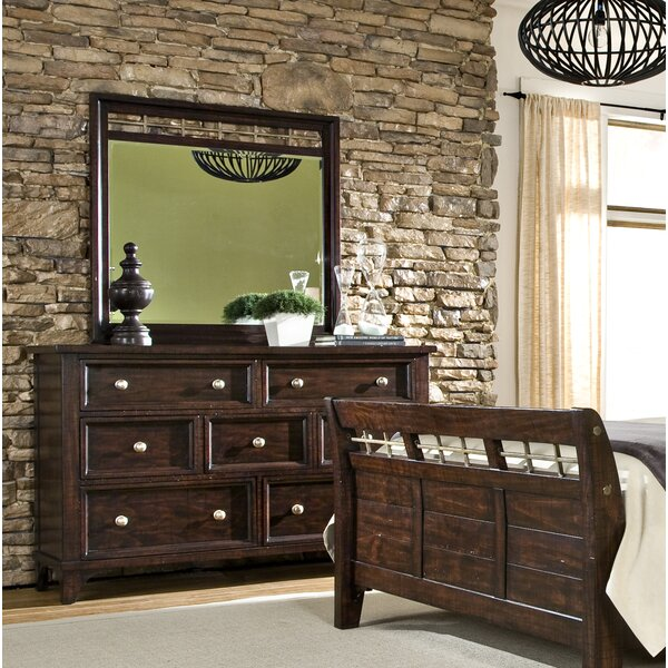 Haven 9 Drawer Double Dresser with Mirror by Imagio Home by Intercon