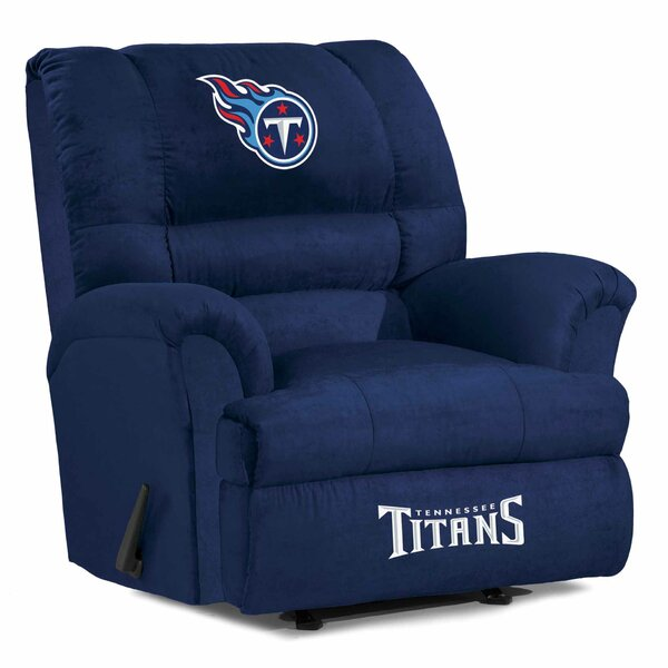 Nfl Big Daddy Manual Recliner By Imperial International.