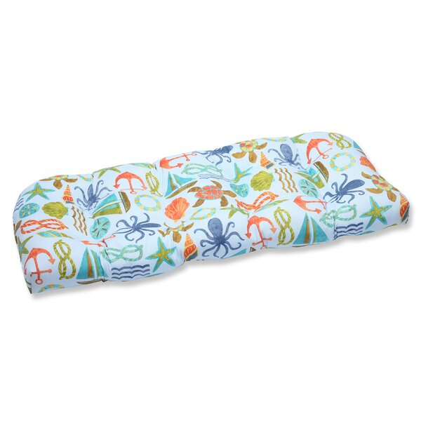 Seapoint Indoor/Outdoor Loveseat Cushion by Pillow Perfect