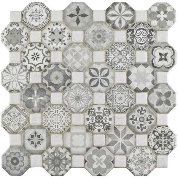 Edredon 12.25 x 12.25 Ceramic Tile in Gray by EliteTile
