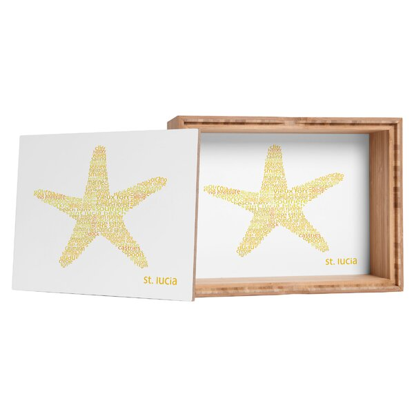 Restudio Designs St Lucia Starfish Storage Box by East Urban Home