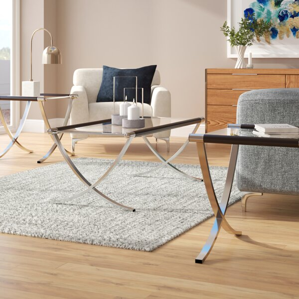 Mullinix 3 Piece Coffee Table Set by Wade Logan Wade Logan®
