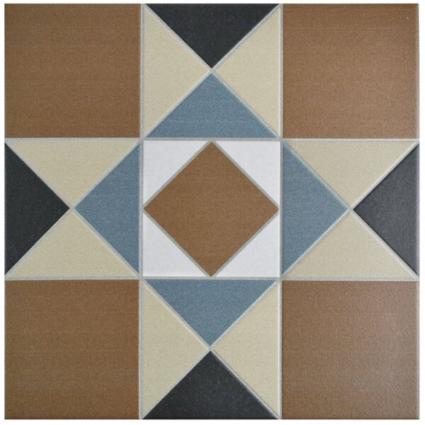 Narcisso 13 x 13 Porcelain Field Tile in Cotto/Tan by EliteTile