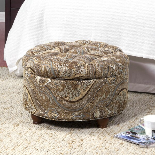 Swigert Tufted Storage Ottoman by Three Posts