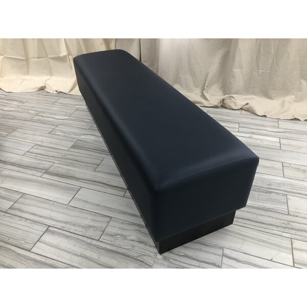 Backless Faux Leather Bench by Randy's Booth Company Randy's Booth Company