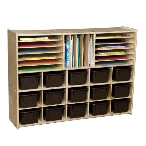Clarendon Multi Use 32 Compartment Cubby by Symple Stuff
