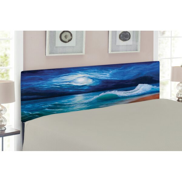 Ocean Queen Upholstered Panel Headboard by East Urban Home East Urban Home