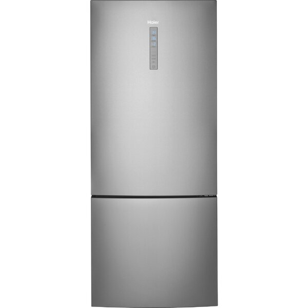 15 cu. ft. Bottom Freezer Refrigerator by Haier15 cu. ft. Bottom Freezer Refrigerator by Haier