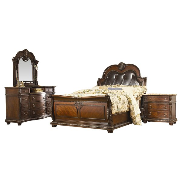 Amalfi Sleigh Configurable Bedroom Set by Astoria Grand