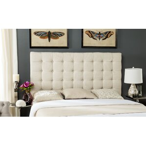 Andrea Woods Upholstered Panel Headboard by Alcott Hill