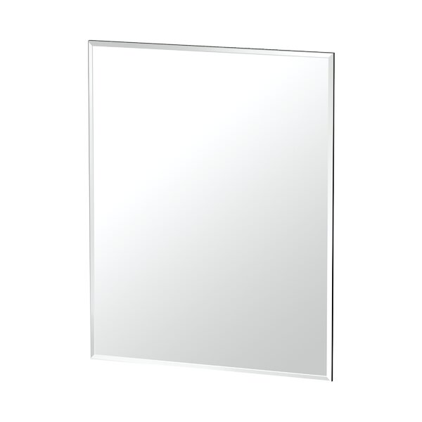 Rectangle Flush Accent Wall Mirror by Gatco
