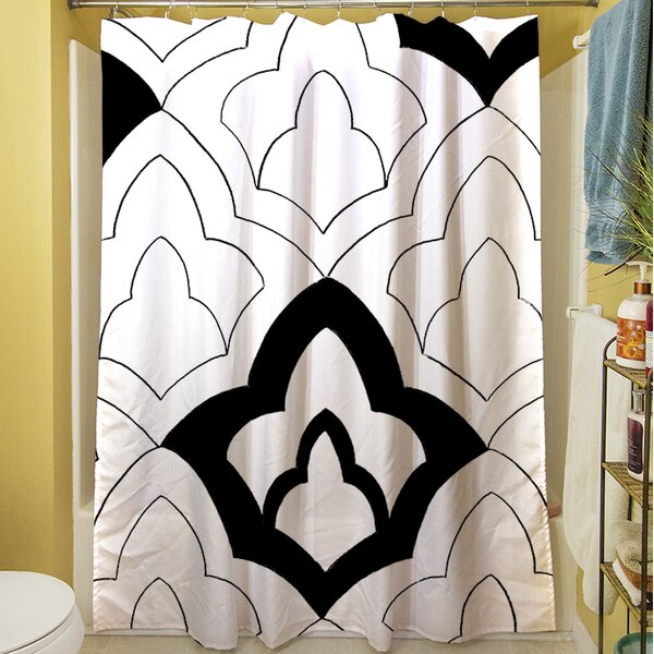 Divisible I Shower Curtain by Manual Woodworkers & Weavers